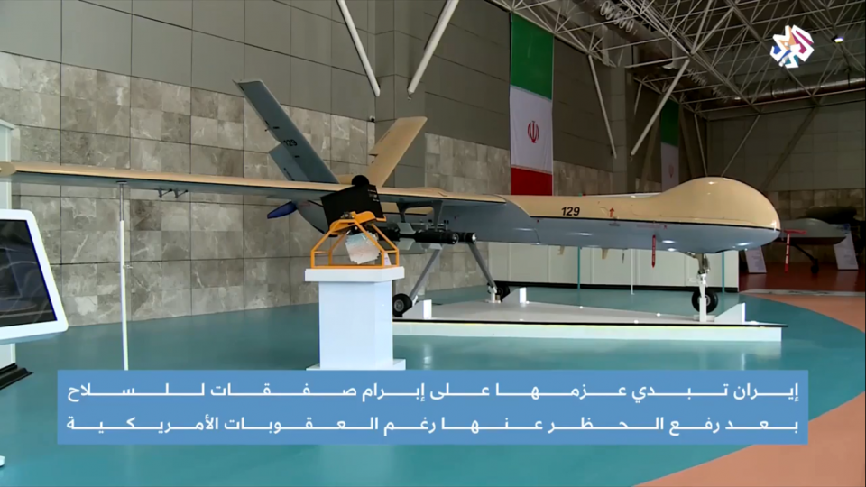How will Iran conduct military interactions after the lifting of arms embargoes?