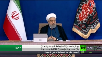 Rouhani: We warn that the Karabakh conflict will turn into a regional war
